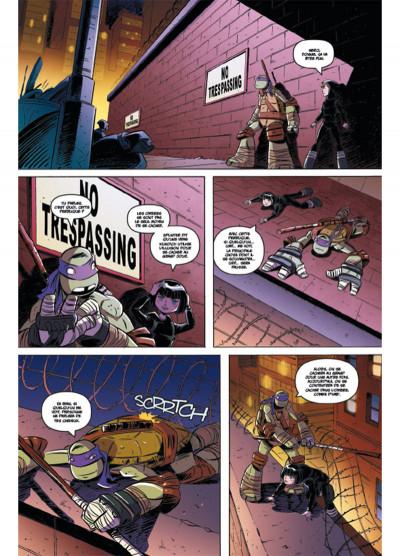 Page 5 Teenage Mutant Ninja Turtles - Les Nouvelles Aventures tome 2
