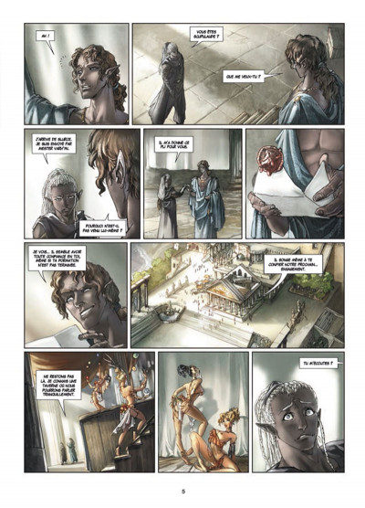 Page 3 Elfes tome 10