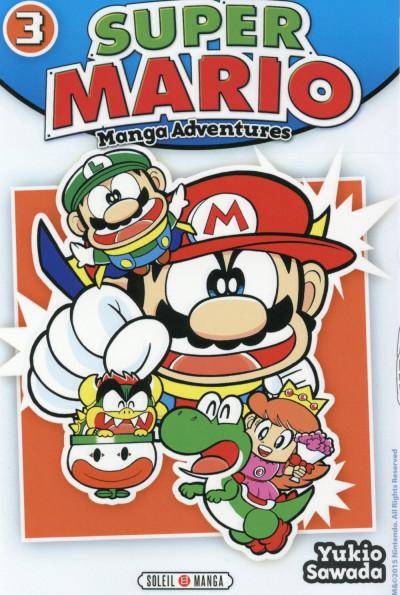 Couverture Super Mario - Manga Adventures tome 3