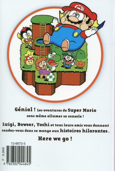 Dos Super Mario - Manga Adventures tome 3