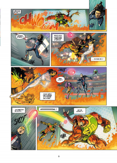 Page 3 PSG Heroes tome 2