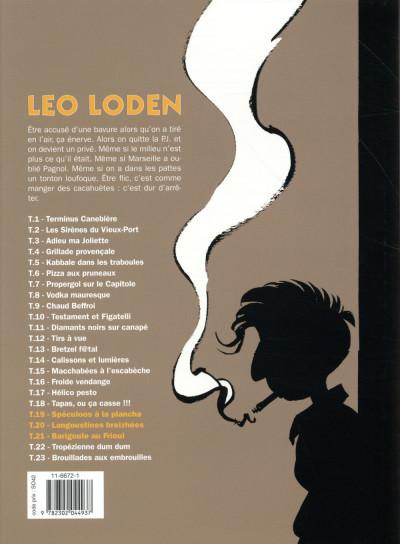 Dos Léo Loden - Intégrale tome 19 à tome 21