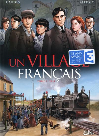 Couverture Un village français tome 1 - 1914
