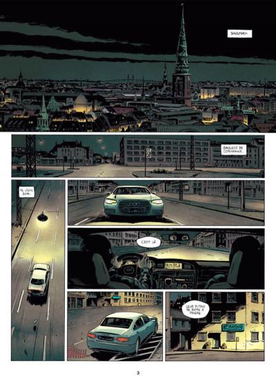 Page 1 Infiltrés tome 1 - Le sourire du faucon