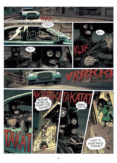 Page 2 Infiltrés tome 1 - Le sourire du faucon