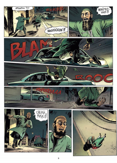 Page 3 Infiltrés tome 1 - Le sourire du faucon