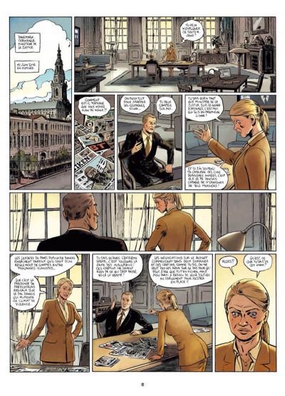 Page 4 Infiltrés tome 1 - Le sourire du faucon