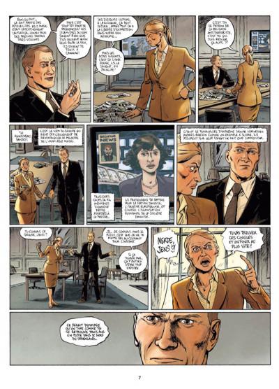 Page 5 Infiltrés tome 1 - Le sourire du faucon