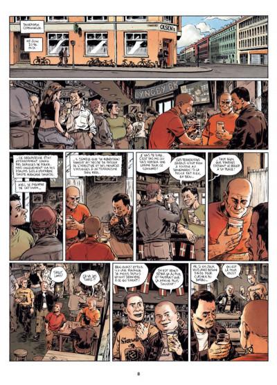 Page 6 Infiltrés tome 1 - Le sourire du faucon