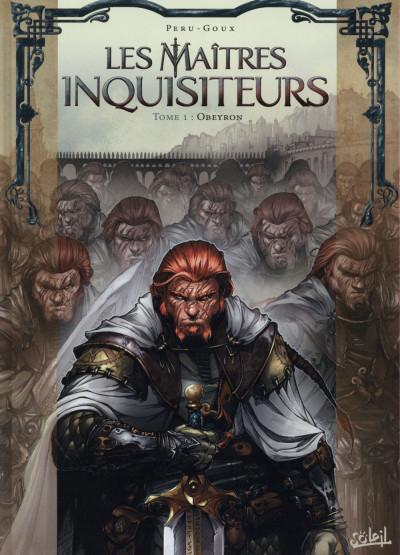 Couverture Les Maîtres inquisiteurs tome 1