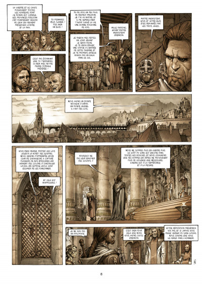 Page 6 Les Maîtres inquisiteurs tome 1