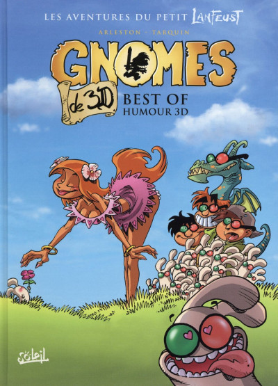 Couverture Gnomes de Troy - Best of en 3D