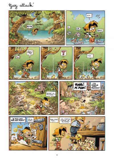 Page 1 Gnomes de Troy - Best of en 3D