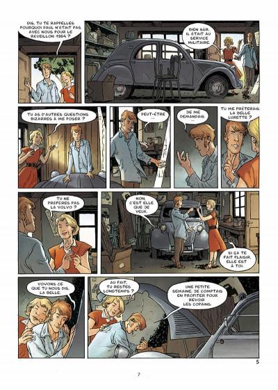 Page 8 Voitures de légende tome 2