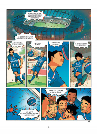 Page 1 PSG Academy tome 1 en 3D