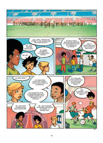 Page 6 PSG Academy tome 1 en 3D