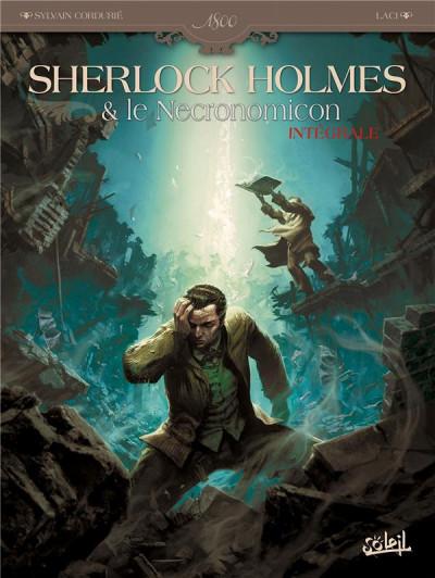 Couverture Sherlock Holmes et le Necronomicon - Intégrale tome 1 et tome 2