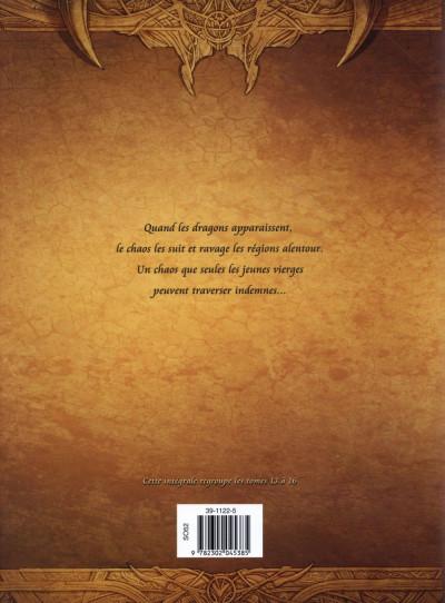 Dos La Geste des Chevaliers dragons - Intégrale tomes 13 à 16