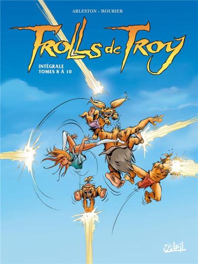 Couverture Trolls de Troy - Intégrale tomes 8 à 10