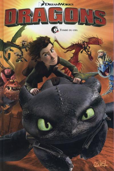 image de Dragons tome 1 - Tombé du ciel