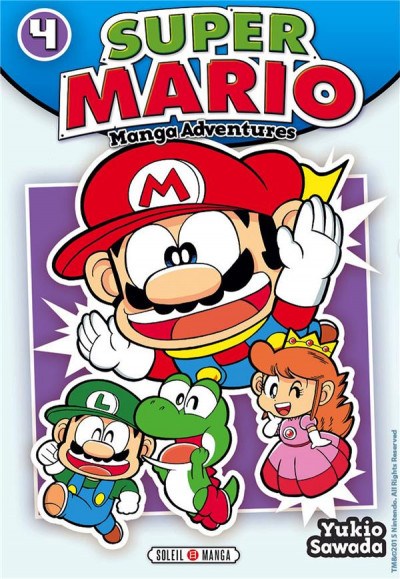 Couverture Super Mario - Manga Adventures tome 4