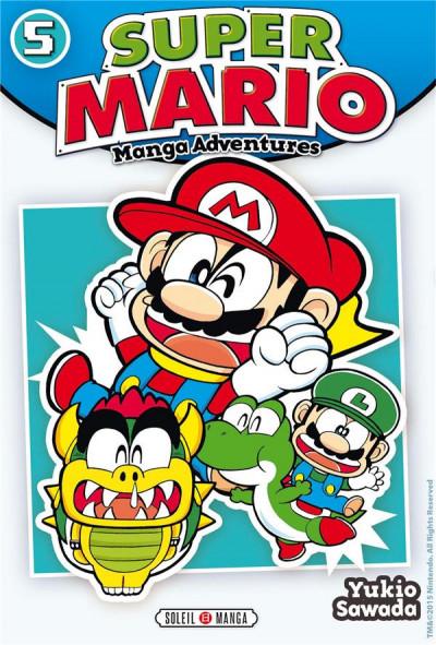 Couverture Super Mario - Manga Adventures tome 5