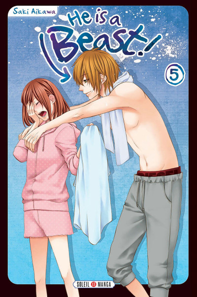 Couverture He Is a Beast ! tome 5