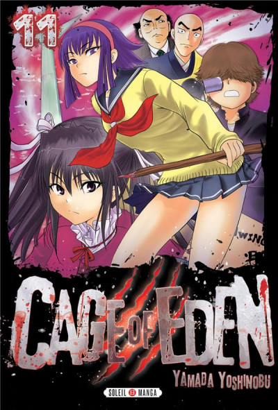 Couverture Cage of Eden tome 11