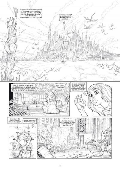 Page 3 Ekhö monde miroir tome 4 - Édition luxe noir et blanc