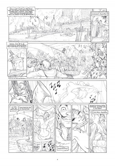 Page 5 Ekhö monde miroir tome 4 - Édition luxe noir et blanc