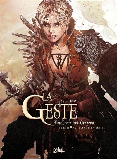 Couverture La Geste des Chevaliers dragons tome 20