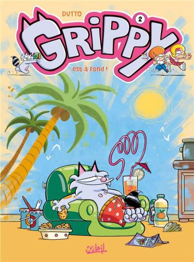 Couverture Grippy tome 2 - Est à fond !