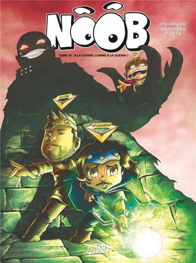 Couverture Noob tome 10 - À la guerre comme à la guerre !