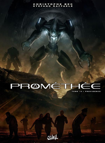Couverture Prométhée tome 12