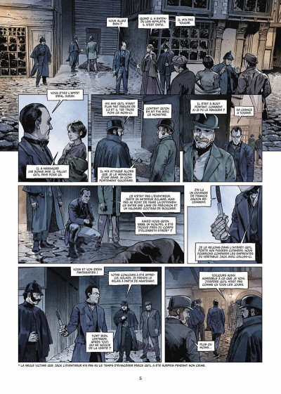 Page 6 Sherlock Holmes Society tome 1