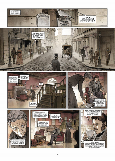 Page 7 Sherlock Holmes Society tome 1