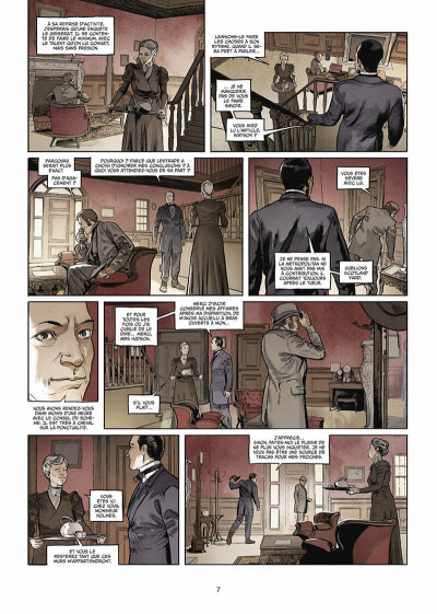 Page 8 Sherlock Holmes Society tome 1