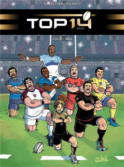 Couverture Top 14 tome 3 - Haka