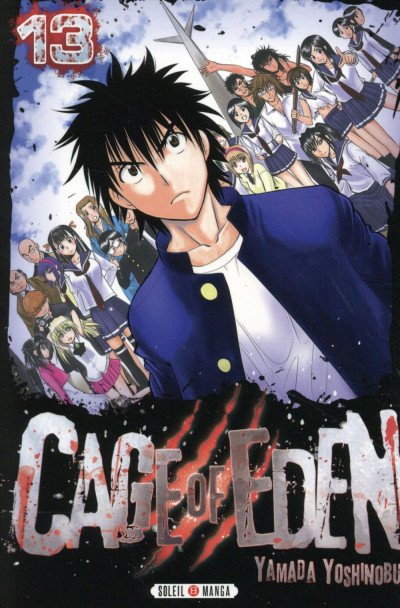 Couverture Cage of Eden tome 13