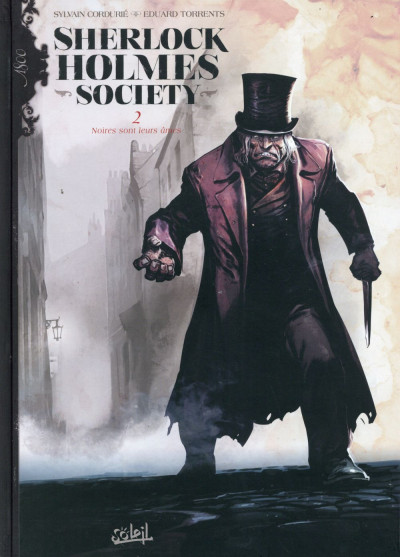 Couverture Sherlock Holmes Society tome 2