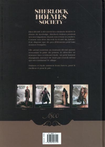 Dos Sherlock Holmes Society tome 2