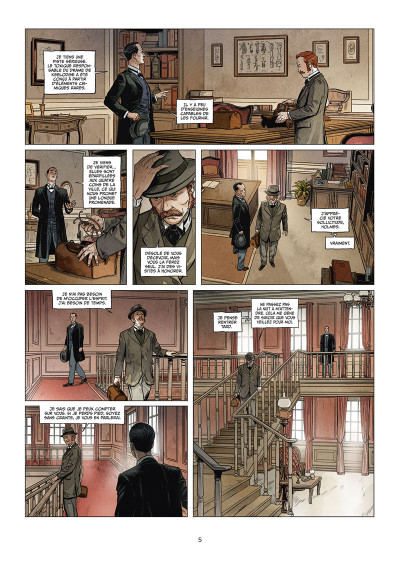 Page 3 Sherlock Holmes Society tome 2