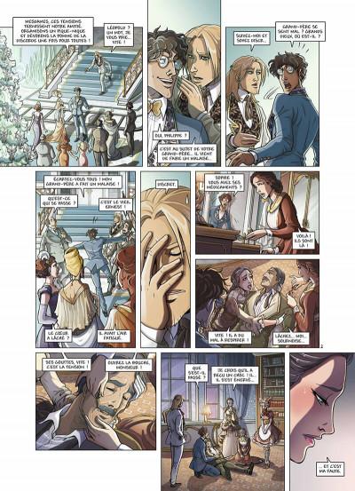 Page 5 Princesse Sara tome 8