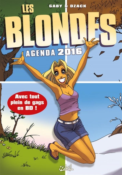 image de Les Blondes - Agenda 2016