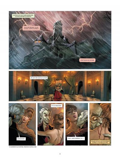Page 1 Aspic, détectives de l'étrange tome 4