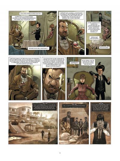 Page 3 Aspic, détectives de l'étrange tome 4