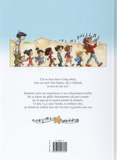 Dos Zoé baby-sitter tome 1
