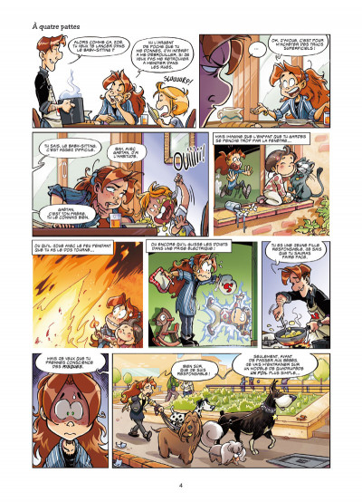 Page 2 Zoé baby-sitter tome 1