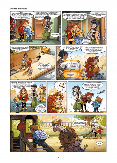 Page 3 Zoé baby-sitter tome 1