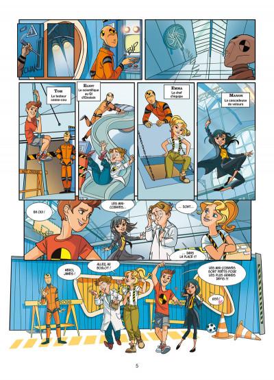 Page 2 On n'est pas que des cobayes ! tome 1